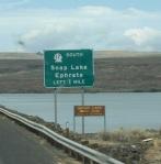 Sign to Ephrata, WA